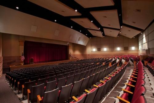 State of the Art Auditorium seats approx 750.